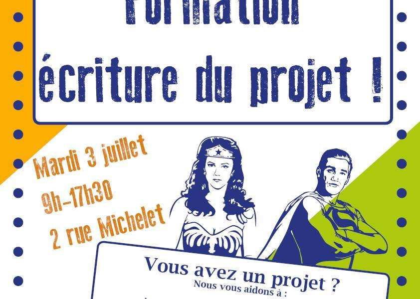 Formation : écriture du projet par Idées